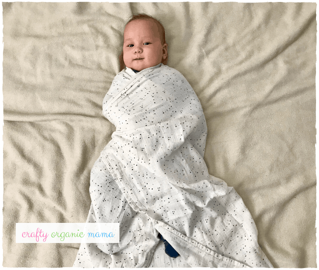 super simple swaddling hack