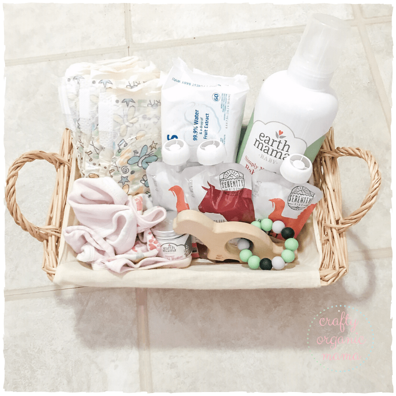 baby care package giftbasket