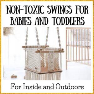 non-toxic baby swings